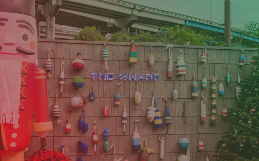 The Wharf's Riverside Holiday Village, Vol. 4 – Happy Hour Mix
